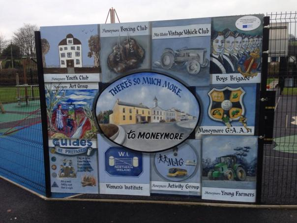 Moneymore Mural